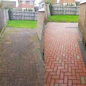 Как очистить тротуарную плитку с помощью АВД