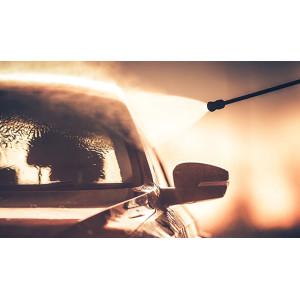 Мойка автомобиля с помощью АВД