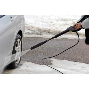 Мойка аппаратом высокого давления автомобиля зимой