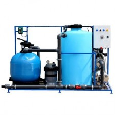 Система очистки и рециркуляции воды